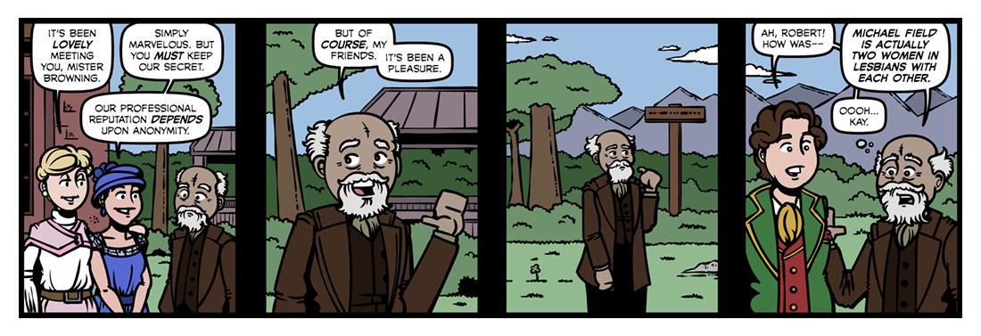 Michael Field  Comic Strip