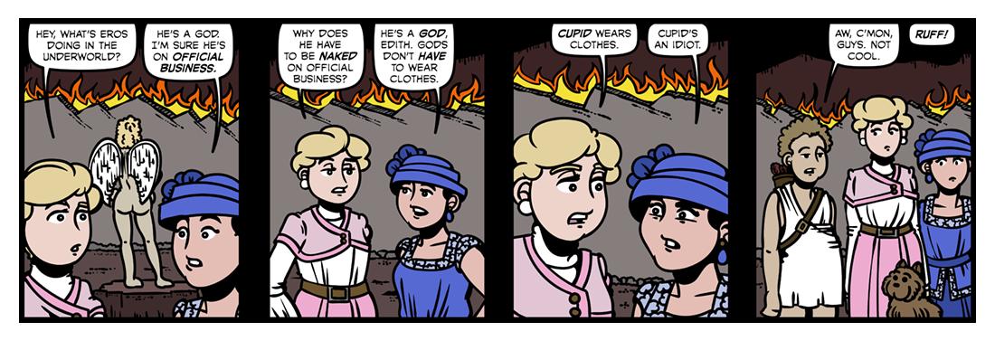Eros  Comic Strip