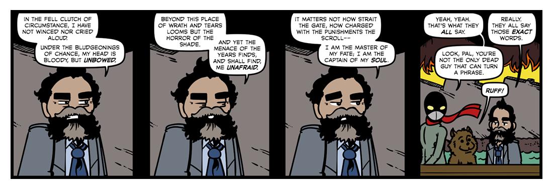 Invictus  Comic Strip