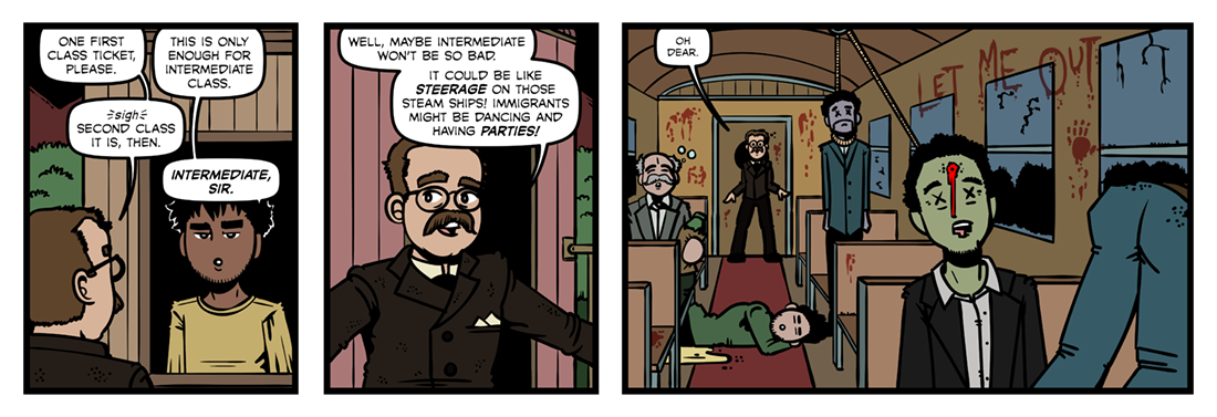 The Man Who Would Be King (1)  Comic Strip