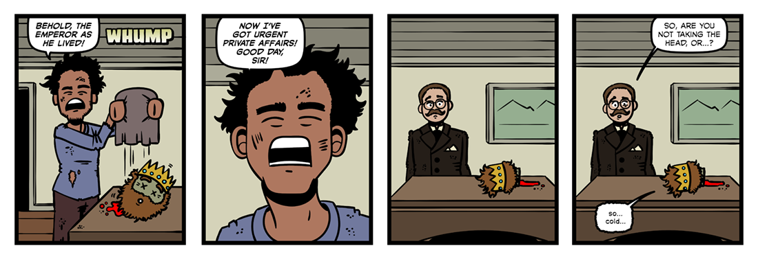 The Man Who Would Be King (2)  Comic Strip