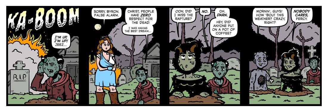 Channel Firing  Comic Strip