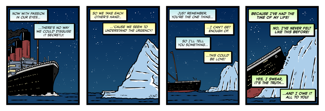The Convergence of the Twain  Comic Strip