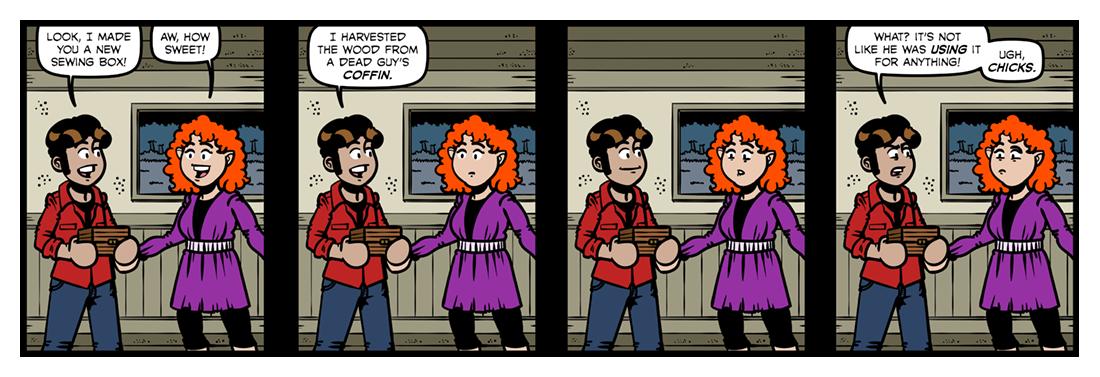 The Workbox  Comic Strip