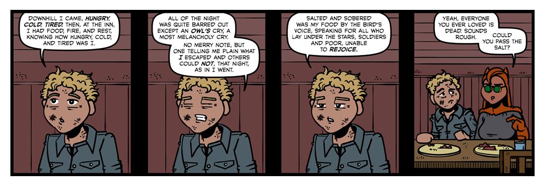 The Owl  Comic Strip