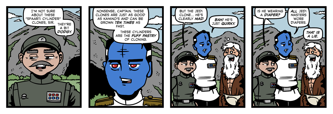 Star Wars: Heir to the Empire (2)  Comic Strip