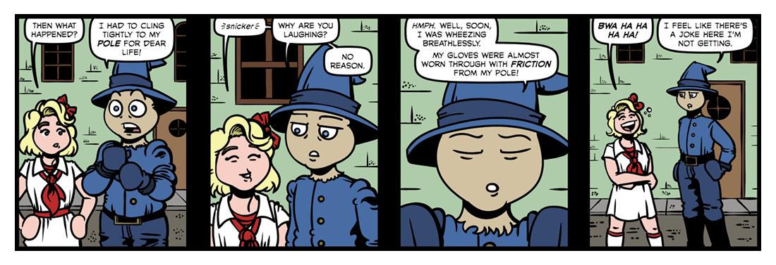 The Royal Book of Oz  Comic Strip