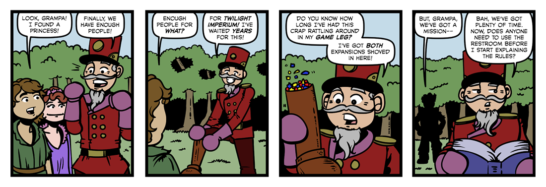 Grampa in Oz  Comic Strip