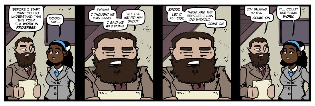 Tortoise Shout (1)  Comic Strip
