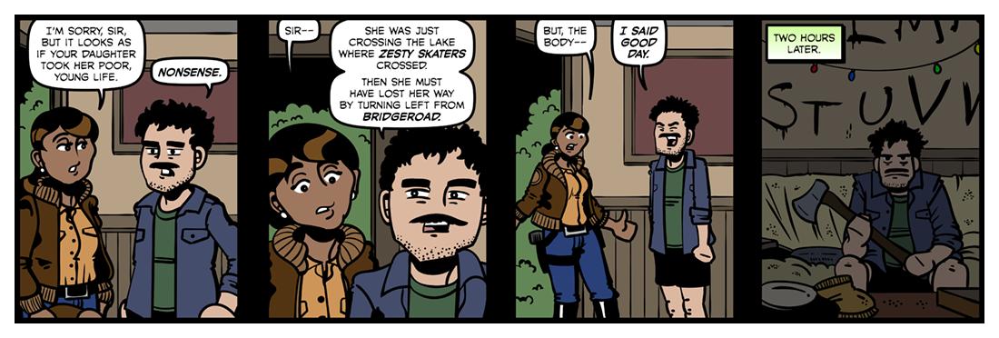 Pale Fire (2)  Comic Strip