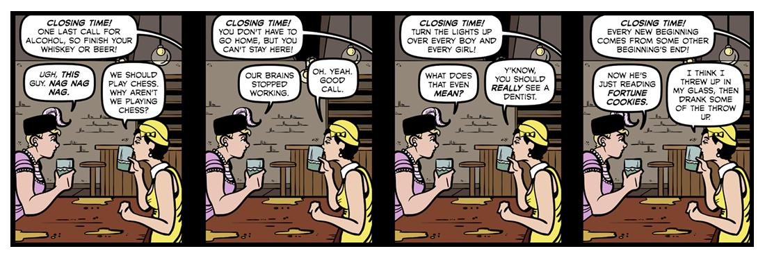 The Waste Land (2)  Comic Strip