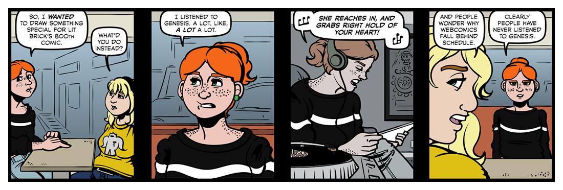 Lit Brick #800  Comic Strip