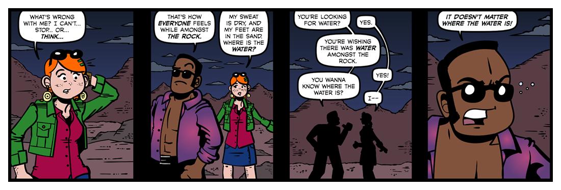 The Waste Land (5)  Comic Strip