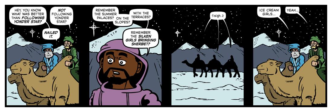 Journey of the Magi (2)  Comic Strip