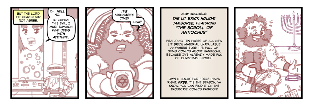The Scroll of Antiochus  Comic Strip