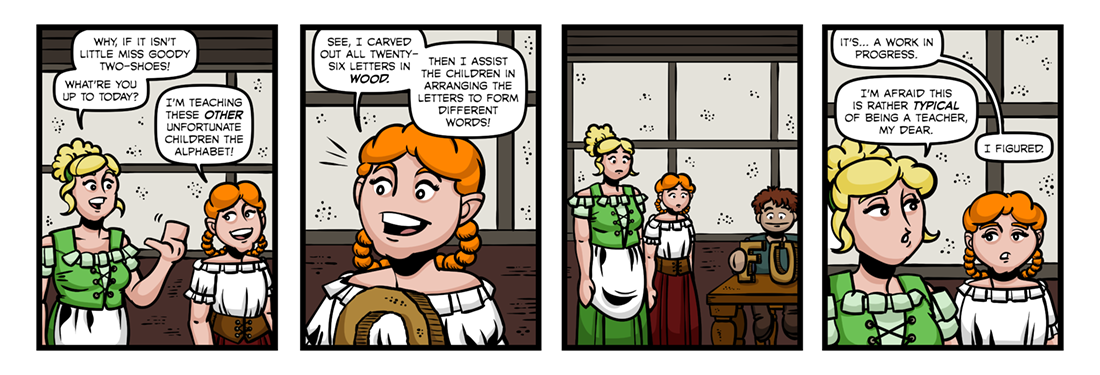 The History of Little Goody Two-Shoes (4)  Comic Strip