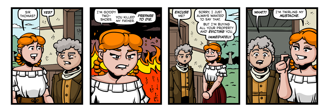 The History of Little Goody Two-Shoes (8)  Comic Strip