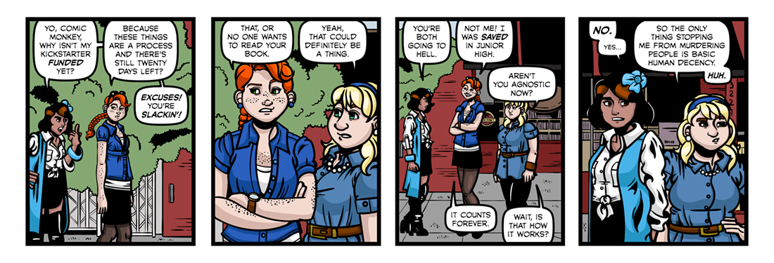 The Gospel of Carol on Kickstarter!  Comic Strip