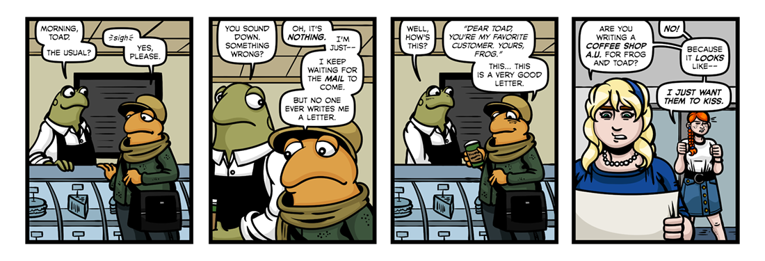 Frog And Toad Are Friends (1)  Comic Strip