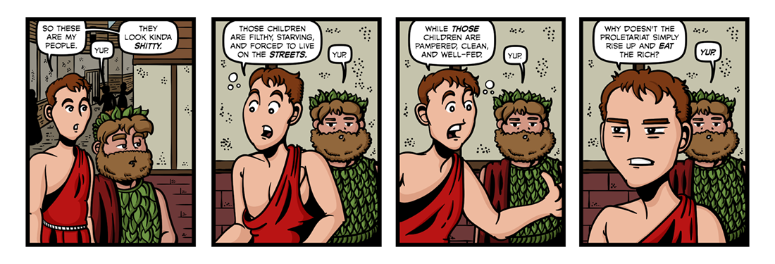 The Life and Adventures of Santa Claus (4)  Comic Strip