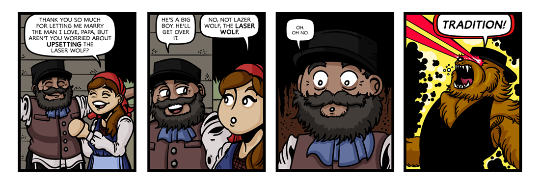 Fiddler on the Roof  Comic Strip
